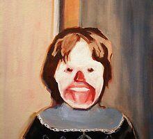Creepy Clown Kid by Jason Edward Davis