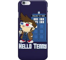 Hello Tenny iPhone Case/Skin