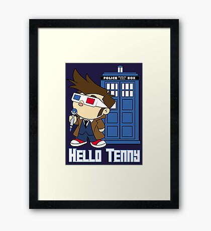 Hello Tenny Framed Print