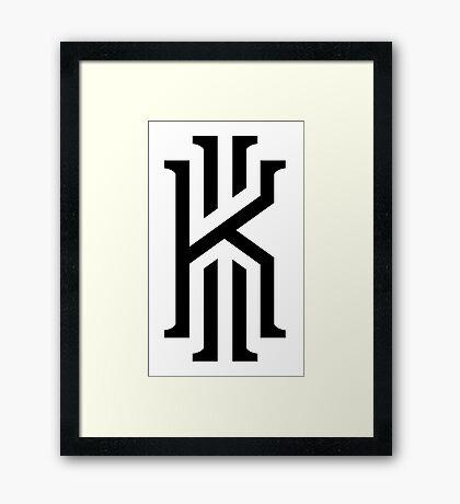 kyrie irving official Framed Print