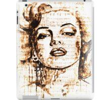 Marilyn Monroe original  ink painting iPad Case/Skin