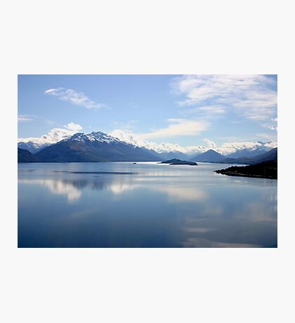 New Zealand landscape Lake Wakatipu Photographic Print