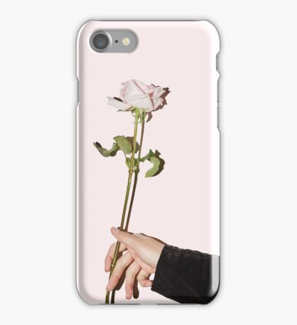 GQ magazine: BTS rose light pink v. iPhone Case/Skin