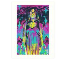 Neon Horror: Carrie Art Print