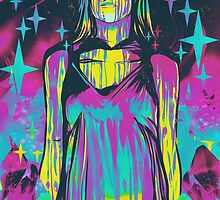 Neon Horror: Carrie by retkikosmos
