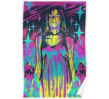 Neon Horror: Carrie Poster