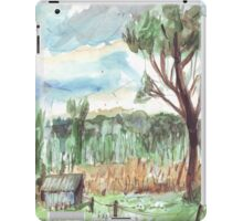 Old Shed at Dawn iPad Case/Skin