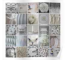 25 Things White  Poster