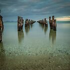 Clifton Springs Jetty by susanzentay
