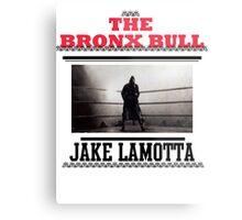 Bronx Bull Metal Print
