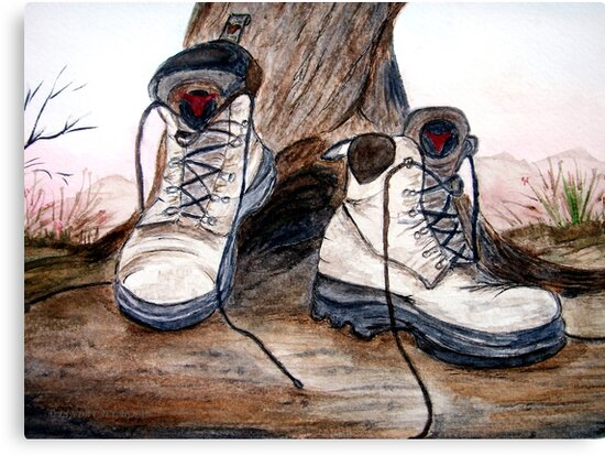 Boots  by Linda Callaghan