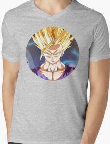 SSJ2 Gohan Mens V-Neck T-Shirt