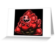The Binding of Isaac - Gurdy Greeting Card