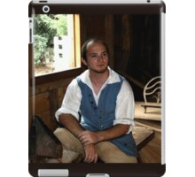 Colonial Shoemaker at Mt. Vernon iPad Case/Skin