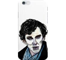 Sherlock - Benedict Cumberbatch iPhone Case/Skin