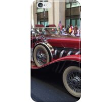 Classic Car, Polish Day Parade, New York City iPhone Case/Skin