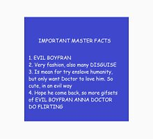 IMPORTANT MASTER FACTS Unisex T-Shirt