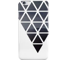 Mountains in triangles iPhone Case/Skin