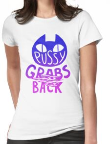 GRABS BACK Womens Fitted T-Shirt