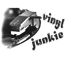 Vinyl Junkie Photographic Print