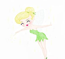 Little Bit of Pixie Dust - Tinker Bell by lilsarahboo