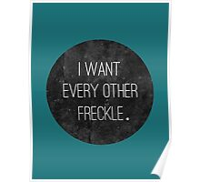EVERY OTHER FRECKLE Poster