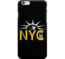 NYC icons collage iPhone Case/Skin