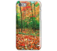 FOREST,AUTUMN. iPhone Case/Skin