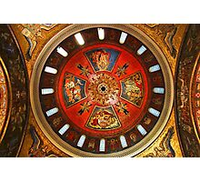 Cathedral Basilica of Saint Louis Interior Study 3  Photographic Print