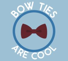 Doctor Who - Bow Ties are cool Kids Clothes