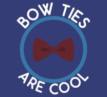Doctor Who - Bow Ties are cool by televisiontees
