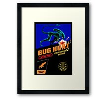 Aliens - Bug Hunt Framed Print
