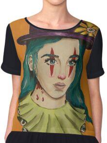 Clown Girl Chiffon Top