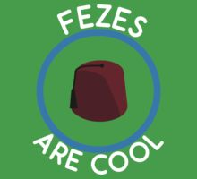 Doctor Who - Fezes are cool Kids Clothes