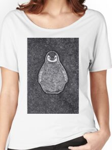 Abstract Penguin Women's Relaxed Fit T-Shirt