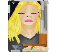 Woman Holding Sword iPad Case/Skin