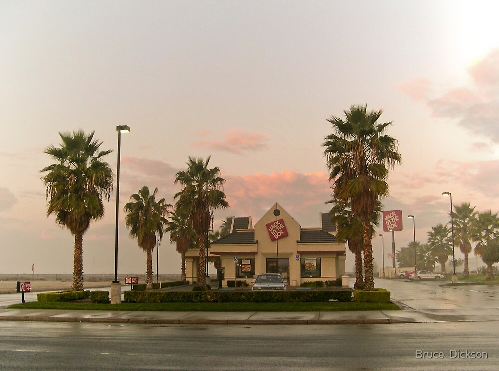 fast food sunrise by Bruce  Dickson