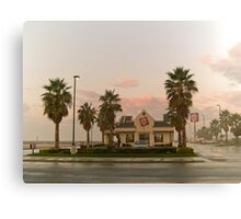 fast food sunrise Canvas Print