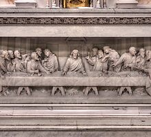Last Supper Relief, Visitation BVM, Philadelphia by PhillyChurches