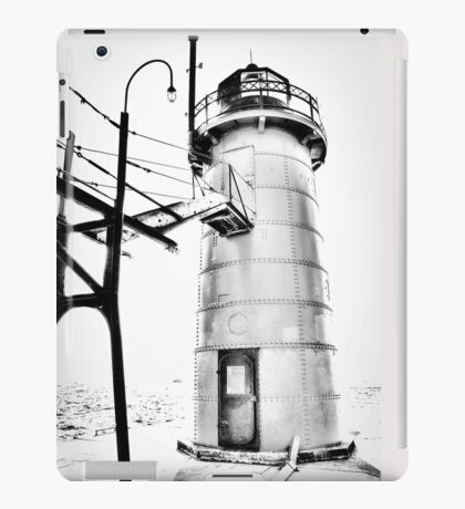 The Lighthouse of South Haven iPad Case/Skin