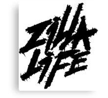Hardcore Logo Canvas Print