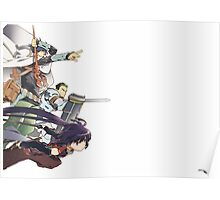 Log Horizon Art Poster