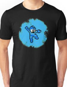 Mega Man Jumps and Shoots Unisex T-Shirt