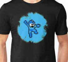 Mega Man Jumps and Shoots Unisex T-Shirt
