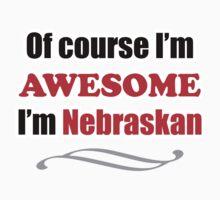 Nebraska Is Awesome Baby Tee