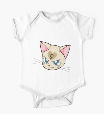 Angry Feminist Cat One Piece - Short Sleeve