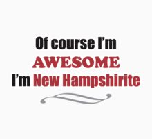 New Hampshire Is Awesome One Piece - Short Sleeve