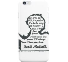 Allison Quote- Number Two (Part One) In a Series iPhone Case/Skin