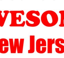 New Jersey Is Awesome Sticker
