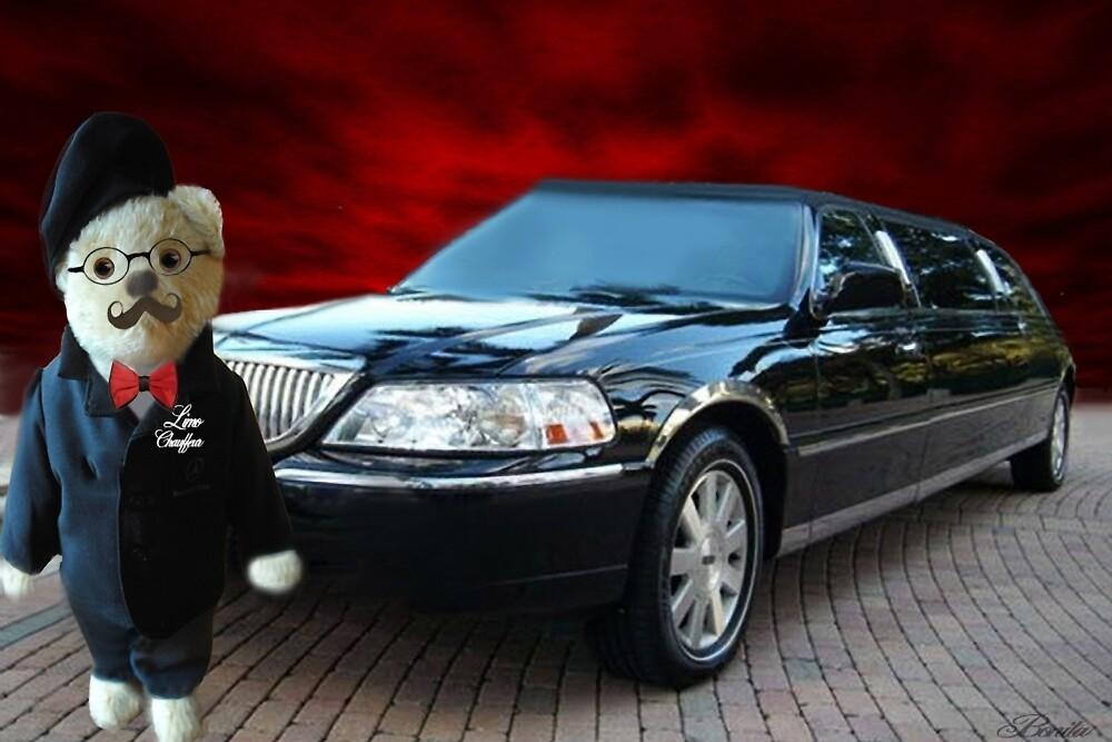 Teddy Bear Limousine Chauffeur Card/Picture by ✿✿ Bonita ✿✿ ђєℓℓσ